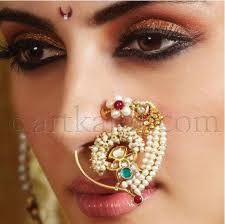 beautiful nose rings images Bridal nose rings beautiful and traditional nose rings gold JPG