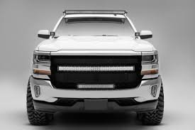 led lights for 2014 gmc sierra zroadz z332081 front roof led light bar mounts 2014 2018 chevy