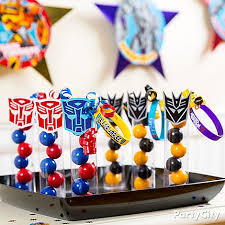transformer party favors transformers party ideas food click to view larger weston s