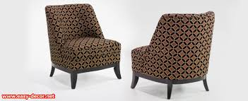 Easy Upholstery Brown Fabric Club Chair Types Of Upholstery Fabric Furniture