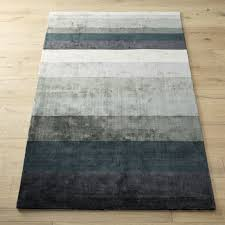 Brown And Blue Rug Modern Area Rugs Contemporary Rugs For The Home Cb2