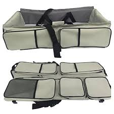 travel bed images 3 in 1 diaper bags portable crib changing station travel jpg