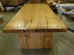 40 X 40 Dining Table Natural Maple Slab Tables Natural Edge Live Edge Live Edge Slab