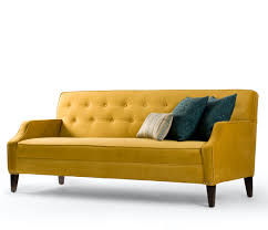 Modern Yellow Sofa Retro Golden Yellow And Reminds Me Of My Great
