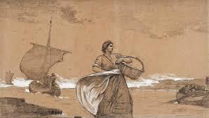 Homer File Winslow Homer Windy Day Cullercoats Jpg Wikimedia Commons