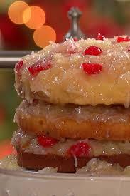 spiced holiday fruit cake
