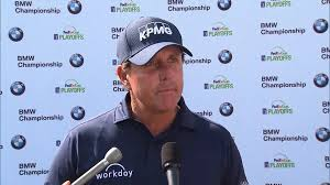 scores bmw golf 2017 bmw chionship phil mickelson rd 1 golf channel