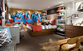 Bedroom Wall Art Ideas Uk Urban Graffiti Bedding And Curtains Room Wallpaper Diy Wall Decor