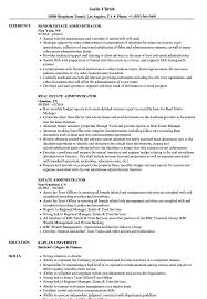 sle resume for business analysts duties of executor of trust estate administrator resume sles velvet jobs