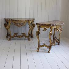 19th century italian console tables set of 2 for sale at pamono