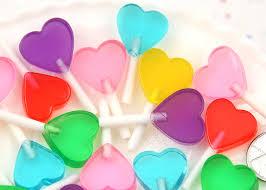 heart lollipop heart lollipops 35mm heart shaped lollipop faux
