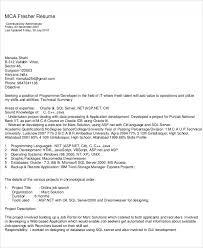 Sample Resume For C Net Developer inspiring sample resume for net developer fresher 48 about remodel
