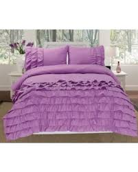 Ruffled Comforter Save Your Pennies Deals On Empire Home 3 Piece Katy Pleated