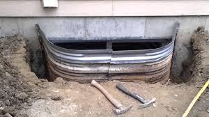 repair rusty window well denver youtube