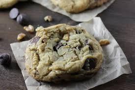 classic chocolate chip walnut cookies dough eyed