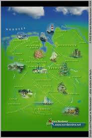 Map Germany by Northwest Germany Tourist Map Bockhornerfeld Germany U2022 Mappery