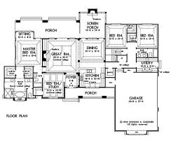 craftsman style house plan 4 beds 3 00 baths 2533 sq ft plan 929 24