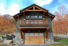 Rv Garage With Living Space Timber Frame Garage Addition With Living Space Boat House With