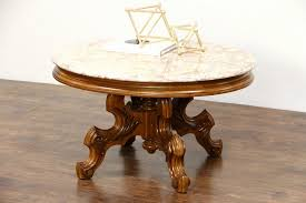 victorian marble top end table vintage marble top end tables lovely sold victorian style carved