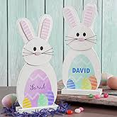 easter bunny decorations personalized easter home decorations personalizationmall