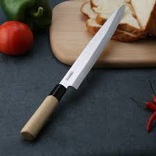 laser kitchen knives salmon sushi knives laser damascus stainless steel sashimi kitchen