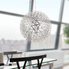 designer deckenleuchten led gaga l design led mongkok kugel deckenleuchte xl edelstahl