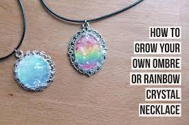 jewelry crystal necklace images How to grow your own crystal necklace magical daydream jpg