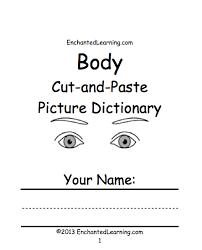 anatomy activities enchantedlearning com