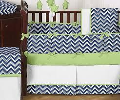 Green And White Crib Bedding Cheap Navy Blue White Green Baby Bedding Crib Set For Boy