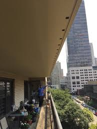 balcony bird net deterrent installation without drilling