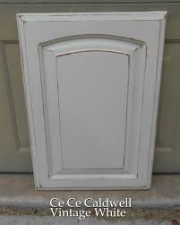 How To Paint Kitchen Cabinets Gray by Using Chalk Paint For Oak Kitchen Cabinets Test Door Oak
