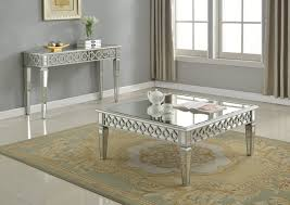 mirrored coffee table set gold mirrored console table tags beautiful mirrored dining room