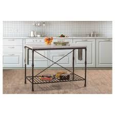 furniture kitchen island castille metal kitchen island textured black white marble
