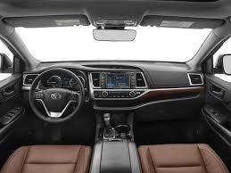 Toyota Highlander Interior Dimensions 2017 Toyota Highlander Hybrid Limited Platinum Toyota Dealer In