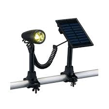 Flag Pole Lights Solar Powered Hampton Bay Outdoor Black Solar 3 Led Flag Light 79132 The Home