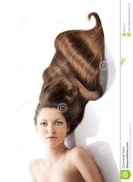 Images Of Girls Hairstyle by Beauty Young Hairstyle And A Lot Of Hair Stock Photo Image