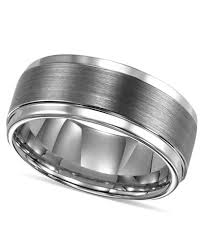 mens ring triton men s ring tungsten carbide comfort fit wedding band 9mm