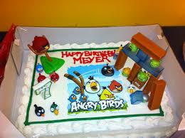 angry bird birthday cake costco cake with cake sticker and cake