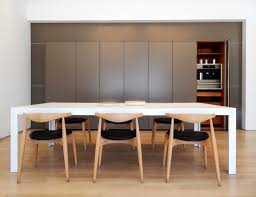 the c2 table at the bulthaup los angeles showroom the chairs were