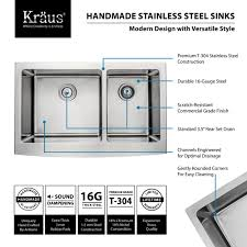 Artisan Sinks And Faucets Stainless Steel Kitchen Sink Combination Kraususa Com