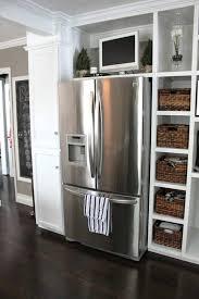 cabinet enclosure for refrigerator refrigerator surround cabinet medium size of surround cabinet custom