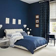 blue paint colors for bedrooms brown varnish wooden six drawers
