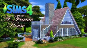 a frame house the sims 4 speed build youtube