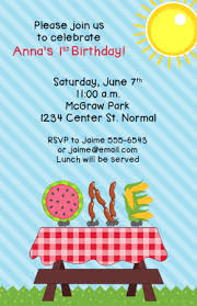 Backyard Birthday Party Invitations by Block Party Invitations Grill Invitations Backyard Bbq
