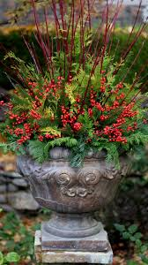 Outdoor Planter Ideas by Best 25 Outdoor Christmas Planters Ideas Only On Pinterest