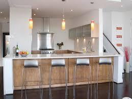 modele cuisine avec ilot bar modele de cuisine ouverte sur salon cool separation cuisine