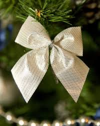 a tree bow merry and happy new year 2018