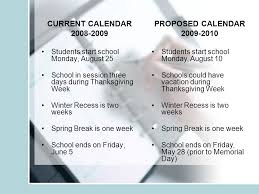 choosing the right calendar for upland students academic year