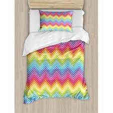 girls rainbow bedding wayfair