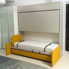 bunk bed with sofa underneath kali duo sofa wall bed sofa space saving furniture